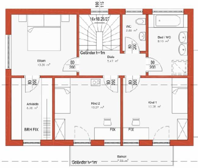 Bild for Grundrissplan einfamilienhaus